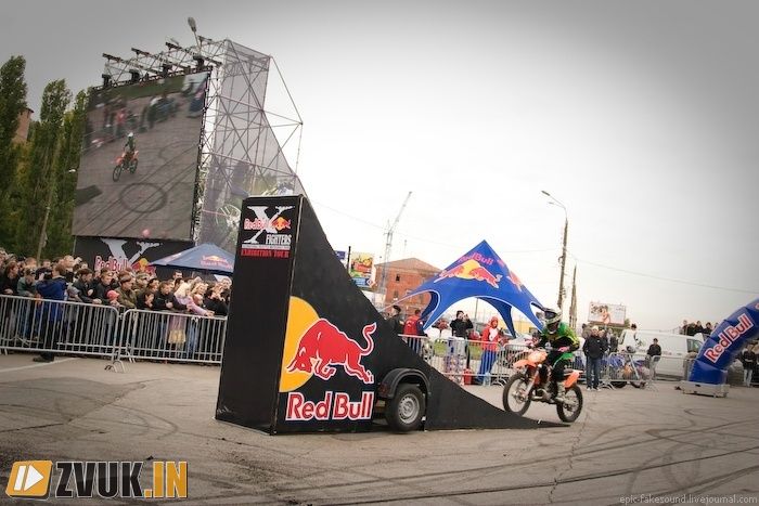 Red Bull X-Fighters Exibition: ������� ������ � ������!