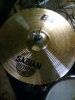 Sabian B8 14'' hi hat, B8 20'' ride